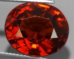 12.50 Cts Natural Reddish Orange Hessonite Garnet Oval Cut Beautiful~$650