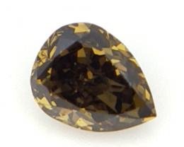 0.12 cts ,  Pear Brilliant Cut Diamond , Loose Natural Diamond