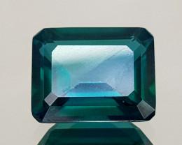 4.88Crt Green Topaz Coated  Natural Gemstones JI28
