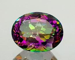 2.35Crt Mystic Quartz Natural Gemstones JI28