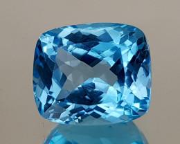 10.25Crt Blue Topaz Natural Gemstones JI28