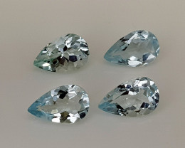 3Crt Aquamarine Natural Gemstones JI28