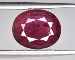 Cert ~ 2.39 CTS Pigeon Blood Natural Ruby