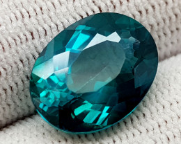 8.27CT GREEN TOPAZ COATED BEST QUALITY GEMSTONE IIGC53