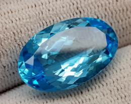 13.46CT BLUE TOPAZ BEST QUALITY GEMSTONE IIGC53