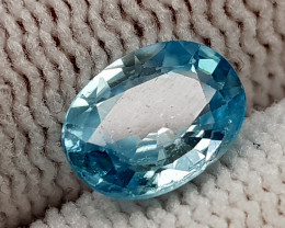 1.75CT BLUE ZIRCON BEST QUALITY GEMSTONE IIGC53