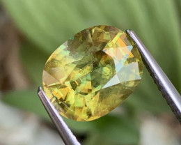 4.12 Cts Amzing Fire Fine Quality Natural Sphene Afghanistan