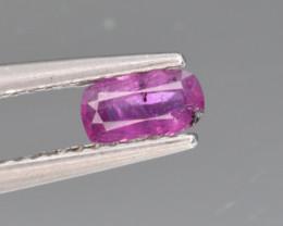 Natural Sapphire 0.41 Cts from Kashmir, Pakistan