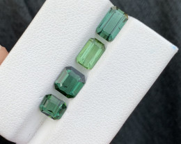 4.50 carats Green color Tourmaline Gemstone From Afghanistan