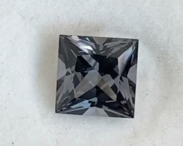 Pretty Princess Cut Grey Spinel - Burma