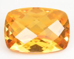 5.70 Cts Rare Fancy Orange Color Natural Mystic Topaz