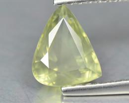 Sapphire 1.06 Cts Green Step cut BGC936