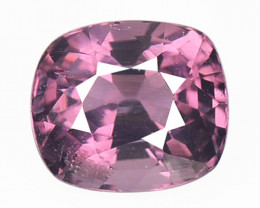 1.26 Cts Un Heated Very Rare Purple Pink Color Natural Spinel Gemstone