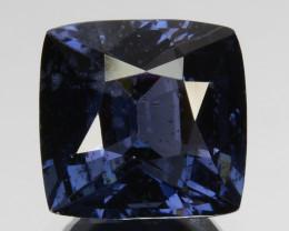 ~BEAUTIFUL~ 2.55 Cts Natural Cobalt Blue Spinel Cushion Sri Lanka