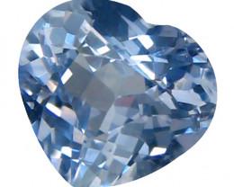 Cylon Sapphire 1.64 Cts Pastel blue Portuguese cut BGC252