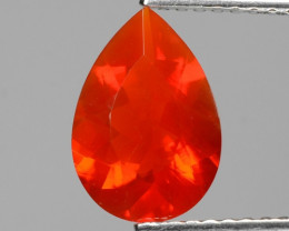 1.13 Cts Very Rare Unheated Mexican Fire Opal Loose Gemstone