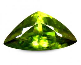 Sphene 1.37 Cts Green Portuguese Cut BGC786