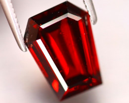 Almandine 3.73Ct Natural Vivid Blood Red Almandine Garnet DF2919/B3