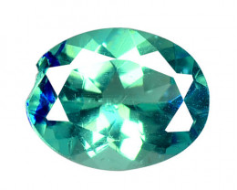 Neon Blue Apatite 1.66 Cts Un Heated Natural Loose Gemstone