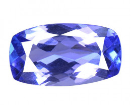 0.95 Cts Amazing rare AA Violet Blue Color Natural Tanzanite Gemstone
