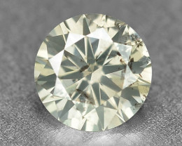 0.23 Cts Untreated Fancy Yellowish Grey Color Natural Loose Diamond