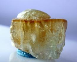 NR!!!! 95.45 CTs Natural - Unheated Orange Brown Topaz Crystal