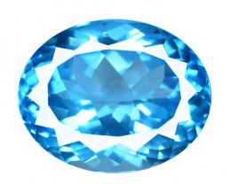28.55 Carat HUGE Swiss Blue Natural Topaz Gemstone