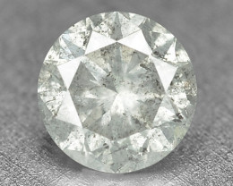 0.22 Cts Untreated Fancy Yellowish Grey Color Natural Loose Diamond