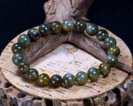 135.75Ct Natural Labradorite Beads Bracelet AB3062
