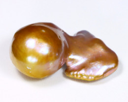 Keshi Pearl 59.54Ct Natural Freeform Freshwater Pearl AB3112