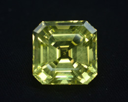 Citrine 24.80 Ct Citrine Natural Beautiful Citrine Asscher Cut