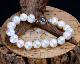 147.60Ct Natural Fresh Water Pearl Beads Bracelet B3140