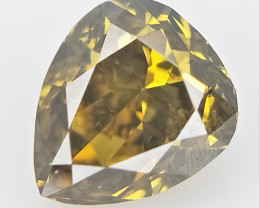 0.15 cts  , Natural Fancy Diamond , Diamond For Jewelry