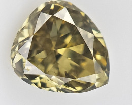 0.10 cts , Pendeloque cut Diamond , Rare Natural Diamond