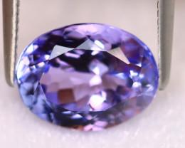 Tanzanite 3.00Ct Natural VVS Purplish Blue Tanzanite ER371/D4