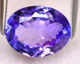 Tanzanite 3.20Ct Natural VVS Purplish Blue Tanzanite ER372/D4