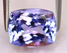 Tanzanite 3.22Ct Natural VVS Purplish Blue Tanzanite ER375/D4