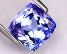 Tanzanite 2.62Ct Natural VVS Purplish Blue Tanzanite ER381/D4