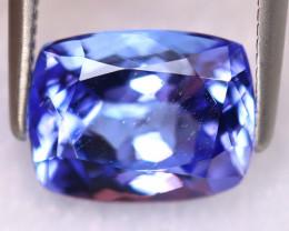 Tanzanite 2.80Ct Natural VVS Purplish Blue Tanzanite ER383/D4