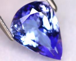 Tanzanite 2.71Ct Natural VVS Purplish Blue Tanzanite ER388/D4
