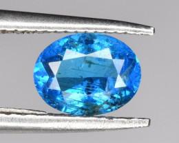Natural Blue Apatite Gem 0.55 CTS