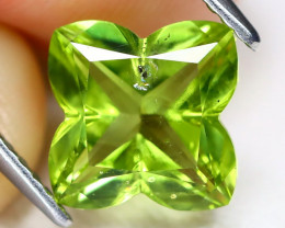 Peridot 2.36Ct Fancy Cut Natural Neon Green Color Peridot AB2932