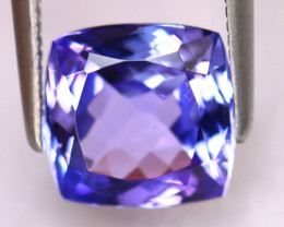 Tanzanite 2.40Ct Natural VVS Purplish Blue Tanzanite ER392/D4