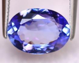 Tanzanite 2.40Ct Natural VVS Purplish Blue Tanzanite ER393/D4