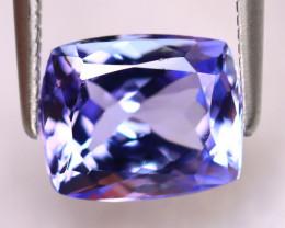 Tanzanite 2.53Ct Natural VVS Purplish Blue Tanzanite ER394/D4