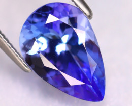 Tanzanite 2.40Ct Natural VVS Purplish Blue Tanzanite ER403/D4