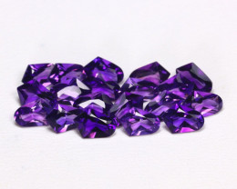 Uruguay Amethyst 6.72Ct Fancy Cut Natural Violet Amethyst Lot AB2945