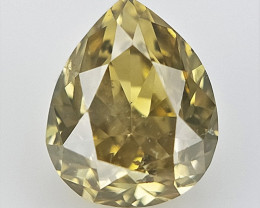 0.11 CTS , pendeloque Brilliant Diamond , Rare Diamond Gemstone