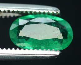 Emerald Superb Color 0.55 Ct Natural Emerald From Panjsher Emerald