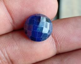 SAPPHIRE BLUE ROSE CUT GENUINE GEMSTONE VA1559